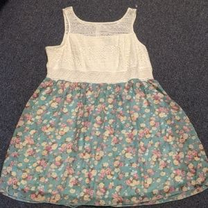 Maurice's lace/floral sundress